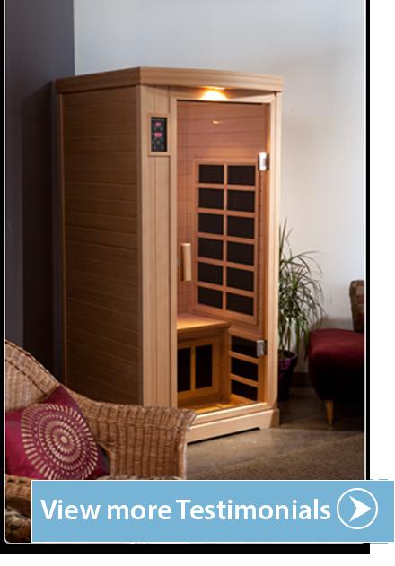 Radiant Health Saunas Testimonials